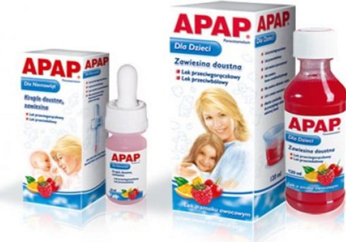 APAP zawiesina dla dzieci