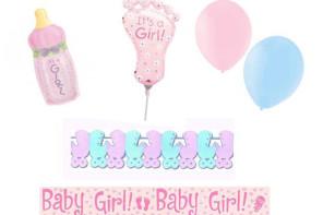 Dekoracje na Imprezę Baby Shower