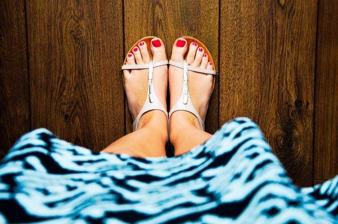 Jak dbać o stopy w ciąży?
