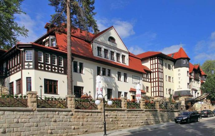 Hotel Bukowy Park w Polanicy Zdrój