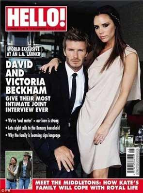Beckhamowie będą ponownie rodzicami
