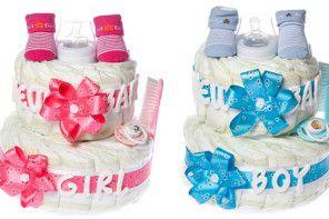 Tort pieluszkowy na Baby Shower