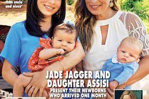Jade Jagger została mamą i babcią jednocześnie