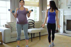 Zestaw ćwiczeń dla przyszłych mam