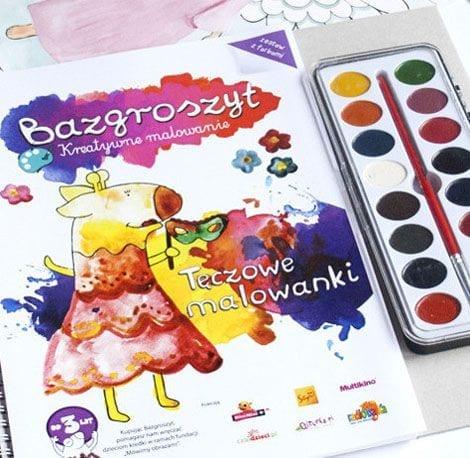 Bazgroszyt – kreatywne malowanie farbami