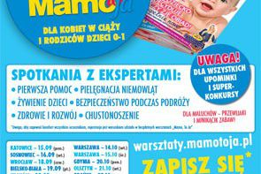 Warsztaty Mamo To Ja –  pierwsze spotkania już we wrześniu