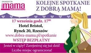 """Warsztat z cyklu """"Spotkania z DOBRĄ MAMĄ"""" w Rzeszowie"""