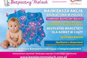 VI edycja Kampanii Bezbieczny Maluch