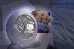 Lampka nocna ułatwi naukę samodzielnego zasypiania