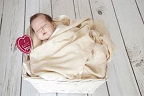 Tkaniny z dodatkiem alg i bambusa idealne dla noworodków