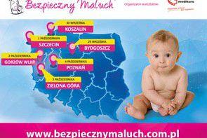 Ruszyła kolejna edycja kampanii Bezpieczny Maluch