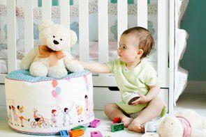 Pufa w dziecięcym pokoju – modny i funkcjonalny dodatek