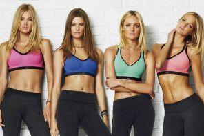 Trening modelek Victoria's Secret
