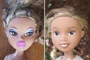 Lalki bez makijażu dla dziewczynek