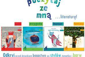 """Nowa seria dla dzieci """"Poczytaj ze mną"""" Wydawnictwa Egmont"""