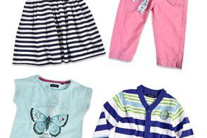 Wiosenna moda dla najmłodszych