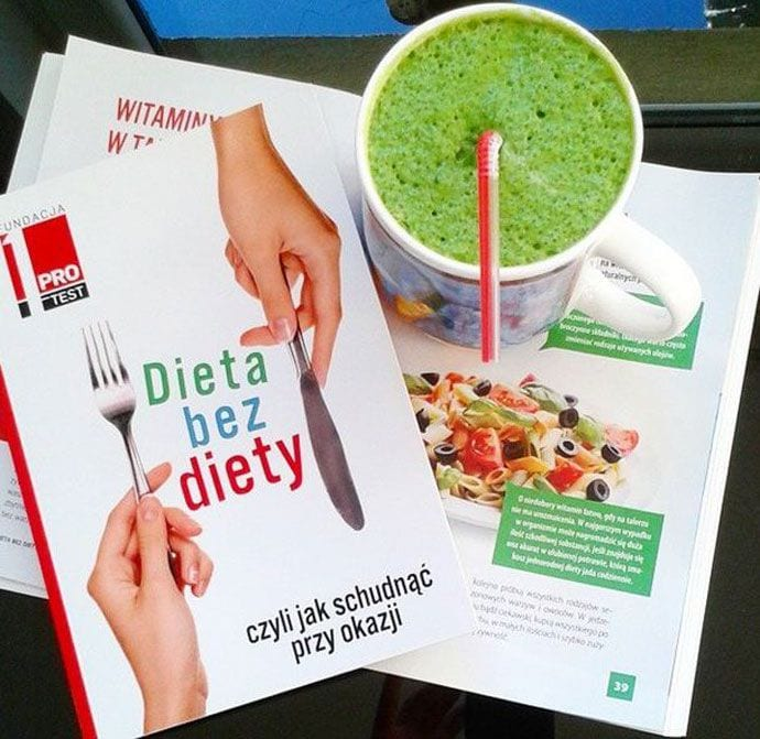 """""""Dieta bez diety, czyli jak schudnąć przy okazji"""""""