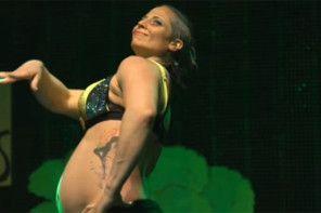 Pole dance w ciąży – ta przyszła mama zaskoczyła wszystkich