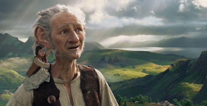 """""""Bardzo Fajny Gigant""""- nowy film Stevena Spielberga"""