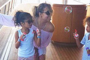 Mariah Carey pokazuje zdjęcia swoich dzieci na Instagramie