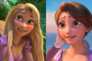 Bajkowe księżniczki z krótkimi włosami