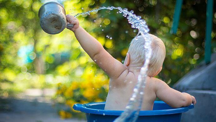 W czym kąpać dzieci, czyli wybór kosmetyków dla najmłodszych
