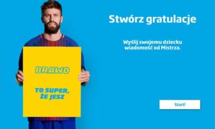 Piłkarz FC Barcelona pochwali Twoje dziecko za zjedzenie zdrowego dania