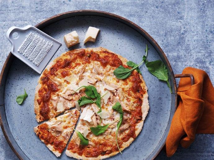 Szybka i zdrowa pizza regenerująca