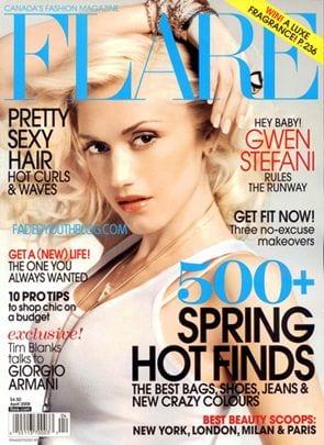 Gwen Stefani dla 'Flare'