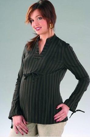 Moda ciążowa na świąteczne dni