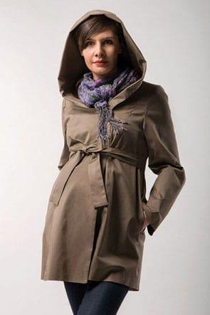 Wiosenny płaszczyk dla kobiet w ciąży