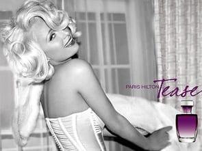 Paris Hilton reklamuje perfumy Tease