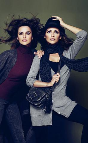Penelope i Monica Cruz dla Biaggini