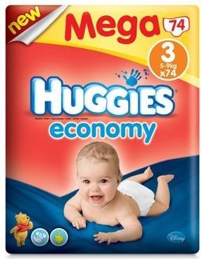 Pieluszki Huggies Economy