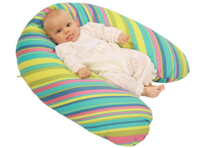 Wielofunkcyjna poduszka dla mamy i dziecka