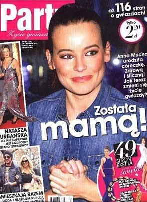Ania Mucha w świetnej formie po porodzie