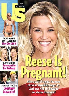 Reese Witherpoon w ciąży