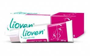 Lioven Ulga dla nóg- żel dla kobiet w ciąży