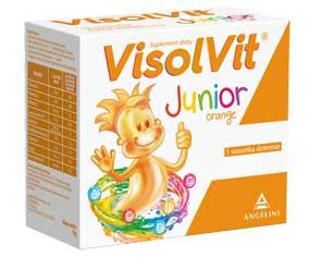 VISOLVIT Junior Orange – witaminowa moc w jednej saszetce