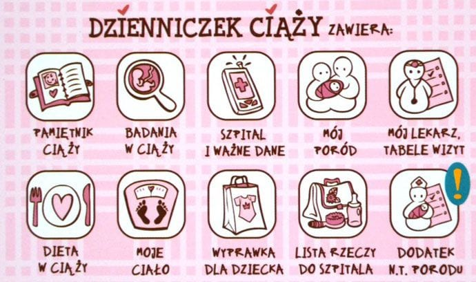 Dzienniczek Ciąży – must have każdej przyszłej mamy