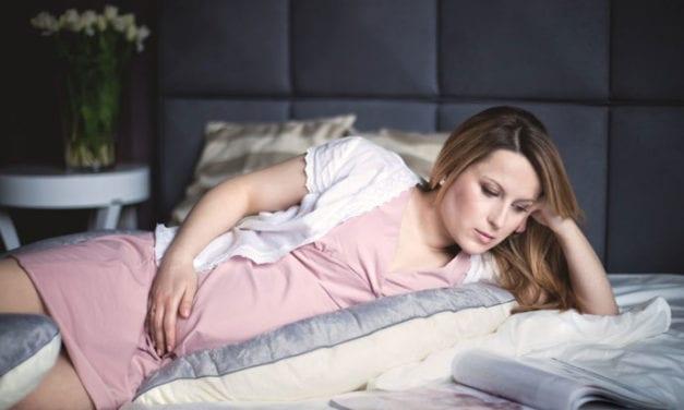 Sposób na dobry sen w ciąży