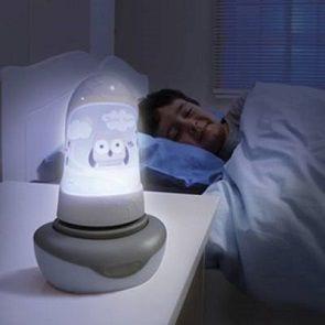 Lampka nocna przegoni wszystkie potwory z szafy