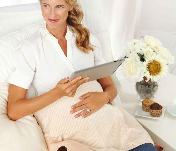 Kocyk dla kobiet w ciąży chroniący przed promeniowaniem elektromagnetycznym