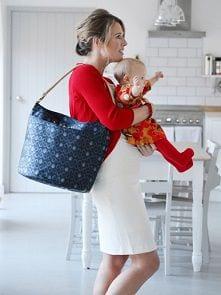 Stylowa torba dla eleganckiej mamy