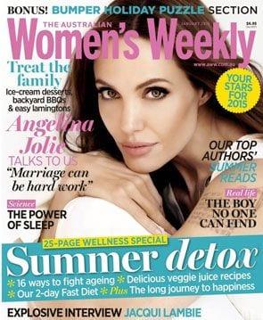 Angelina Jolie usunęła jajniki