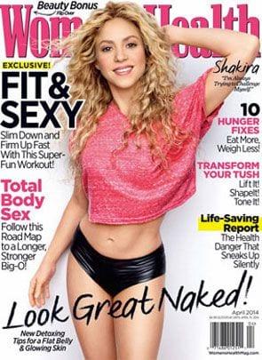 Shakira w formie po drugiej ciąży