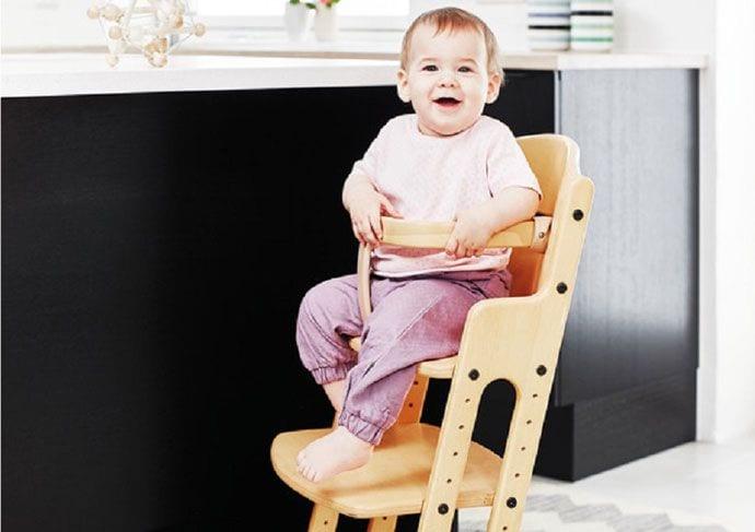 Krzesełko DanChair – rodzinne życie wokół stołu!