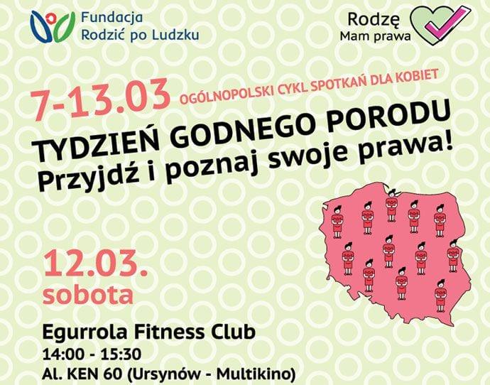 Spotkanie dla przyszłych mam w Egurrola Fitness Club w Warszawie