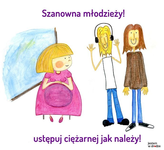 """Kampania """"Jestem w drodze"""" w warszawskiej komunikacji miejskiej"""