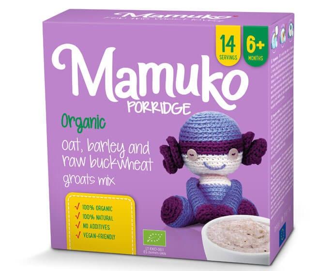 Mamuko – ekologiczne kaszki dla niemowląt idealne w czasie rozszerzania diety dziecka